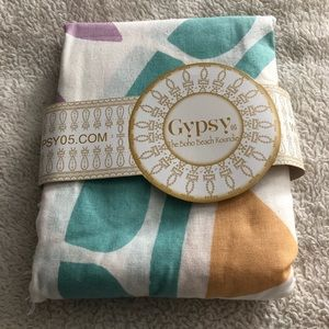 Gypsy 05 Boho Beach Roundie Beach Towel